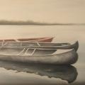 canoe_olio su tela